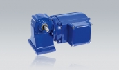 Three-Phase Geared Motor SDG 634 T with Single Worm Gear Unit GS 130